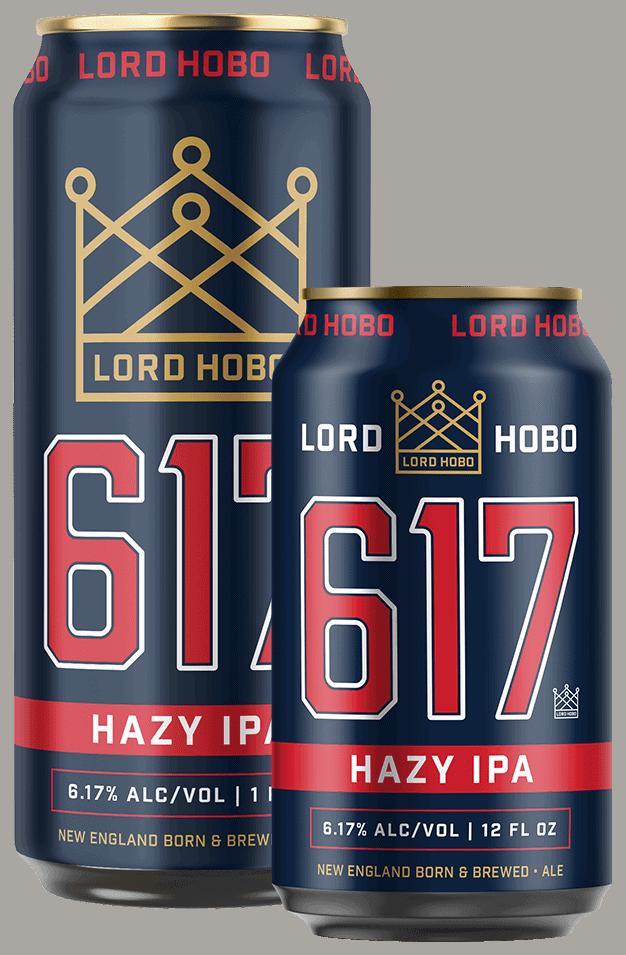 Lord Hobo Brewing 617 Can Design - Unsung Studio Branding