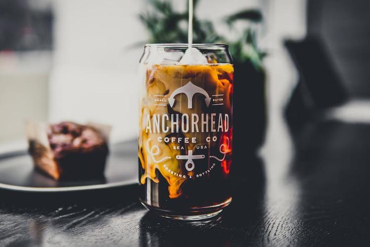 Anchorhead Coffee Cup Logo - Unsung Studio Branding