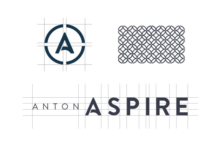 Anton Aspire Logo - Unsung Studio Branding