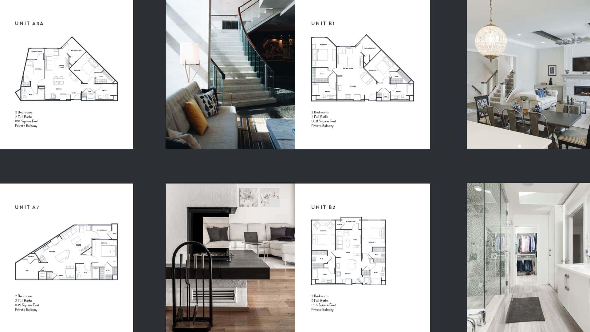 Anton Aspire Floor Plans - Unsung Studio Branding