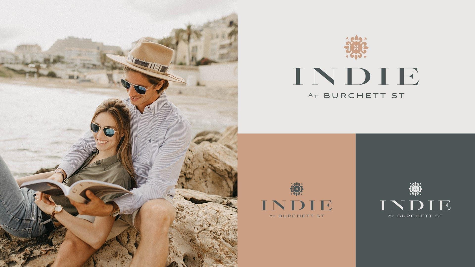 The Indie Collection Burchett St Logo - Unsung Studio Branding