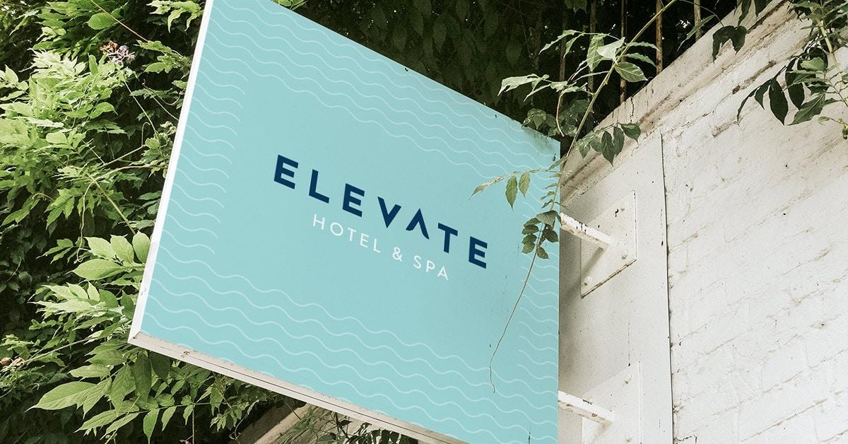 Anton Elevate Signage Concept - Unsung Studio Branding