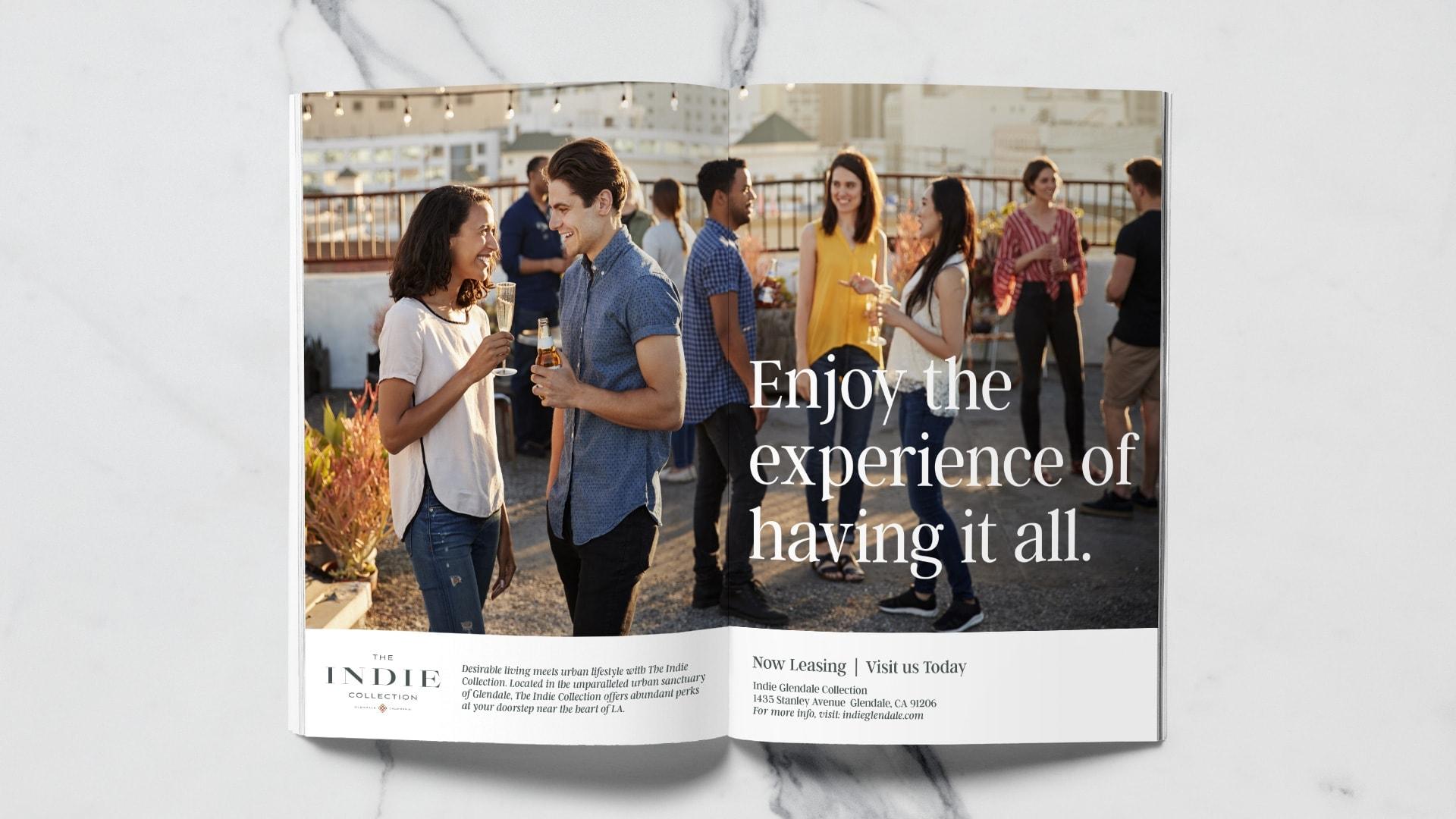 The Indie Collection Brochure - Unsung Studio Branding
