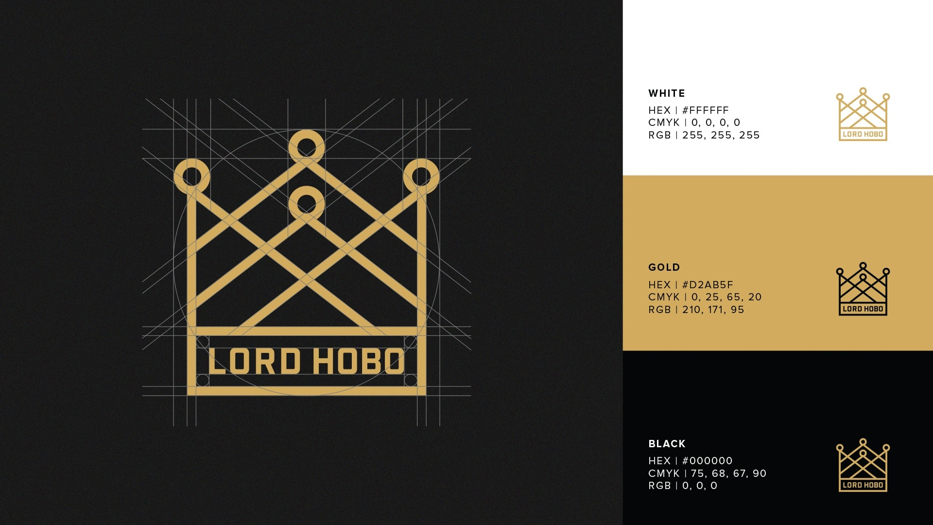 Lord Hobo Brewing Logo Design - Unsung Studio Branding