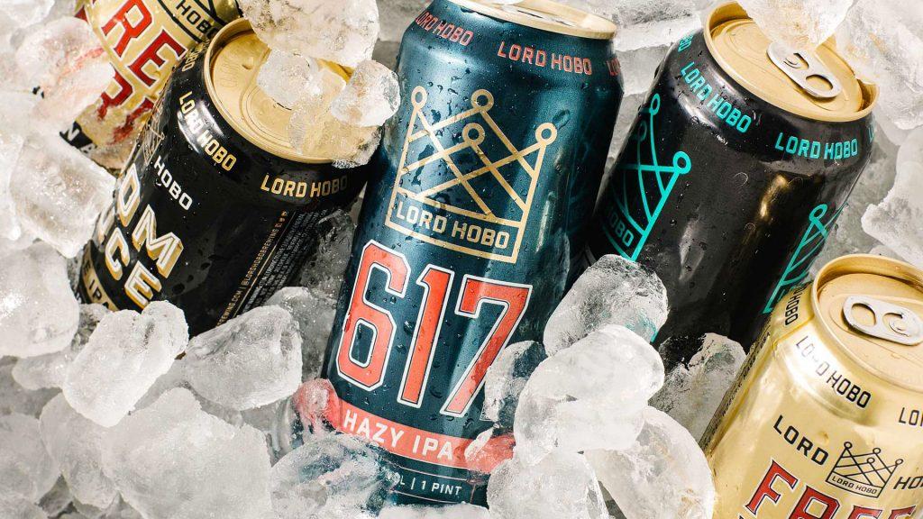 Lord Hobo Brewing Can Design - Unsung Studio Branding
