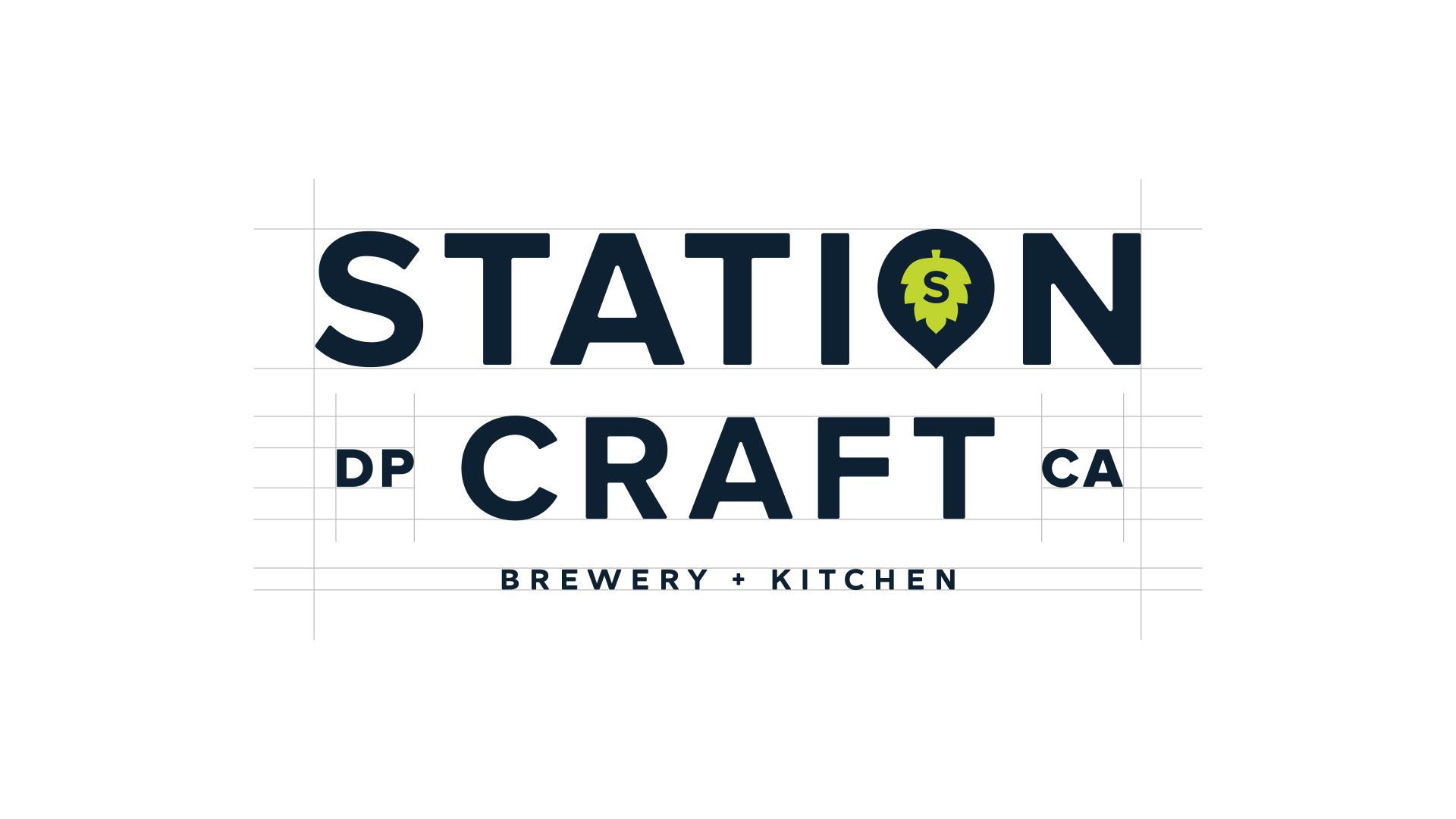 Station Craft Dana Point Logo - Unsung Studio Branding