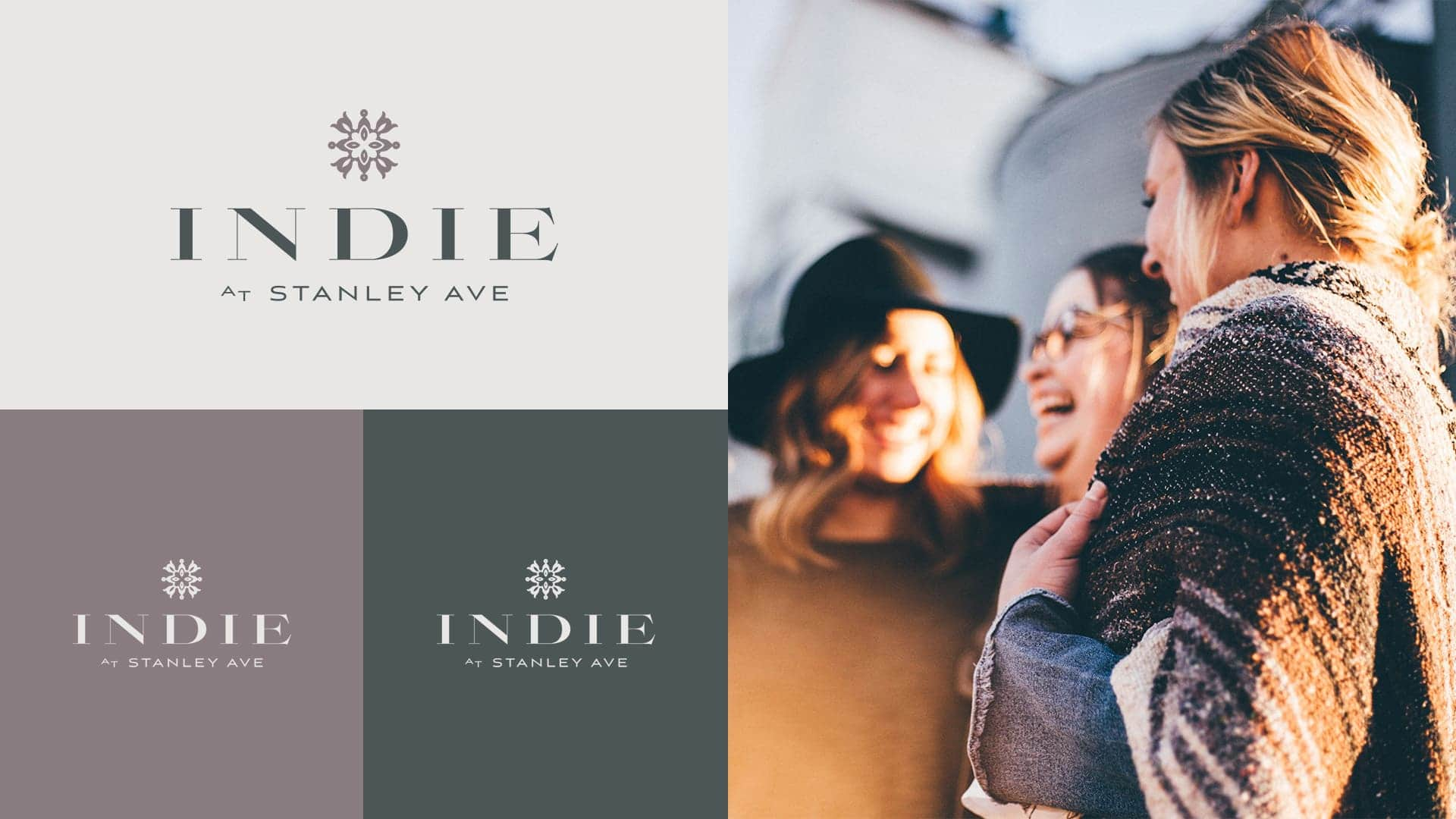 The Indie Collection Stanley Ave Logo - Unsung Studio Branding