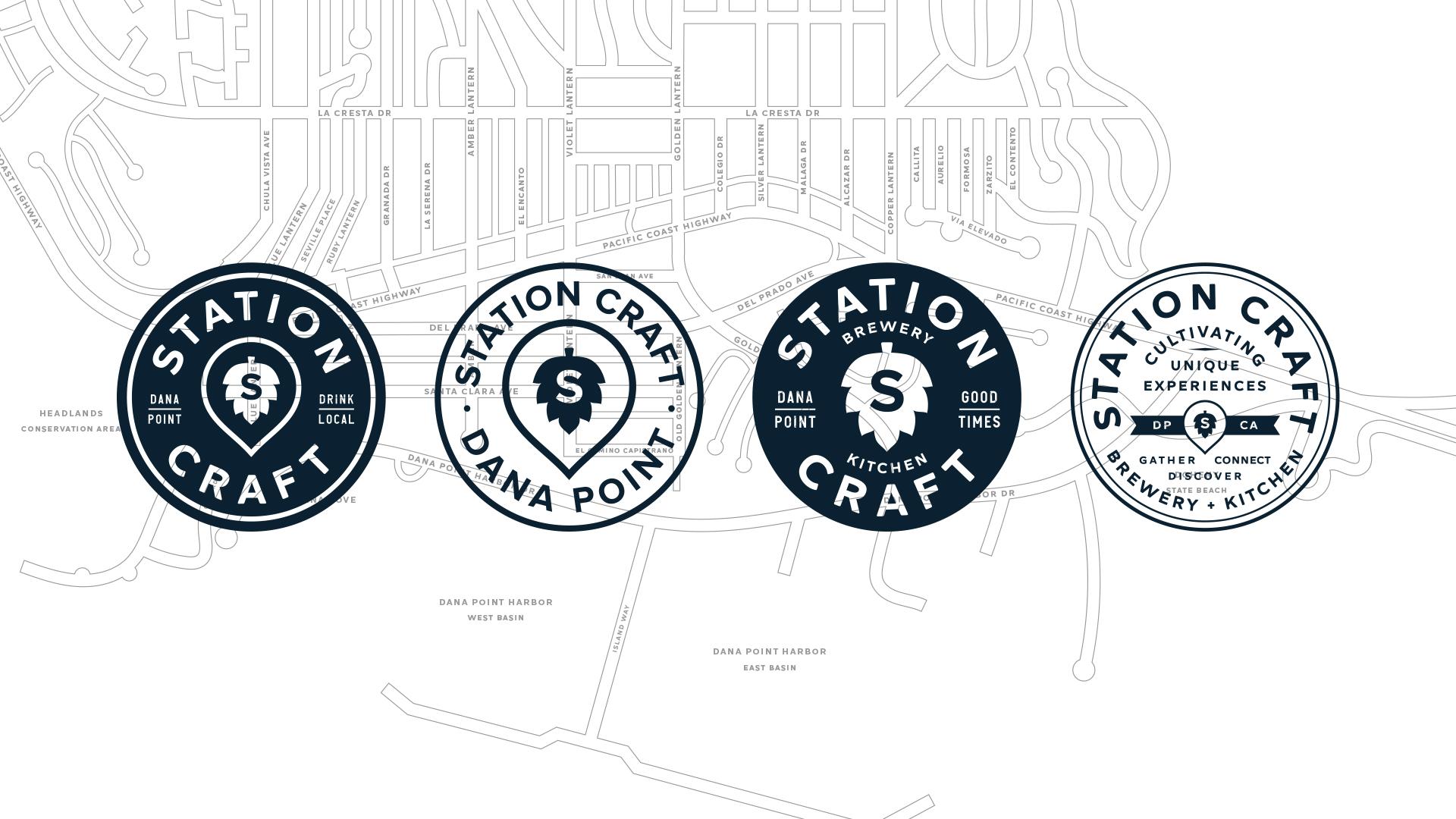 Station Craft Dana Point - Unsung Studio Branding