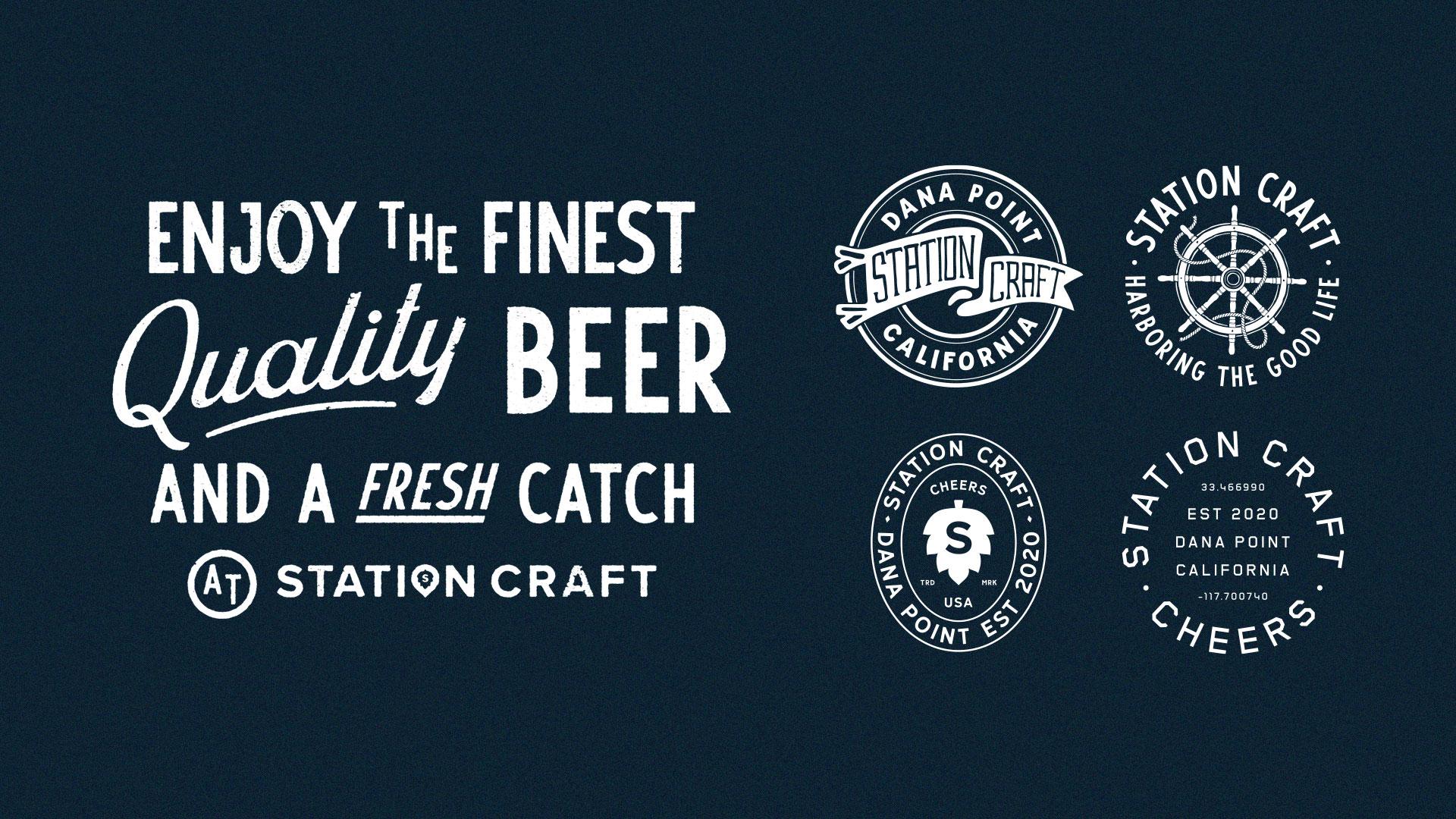 Station Craft Shirt Designs - Unsung Studio Branding