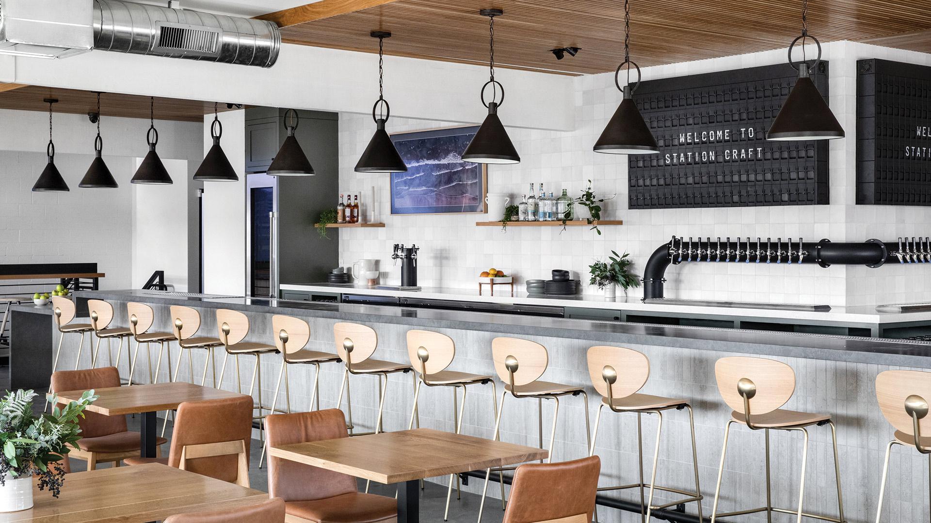 Station Craft Dana Point Interior Design Lindye Galloway - Unsung Studio Branding