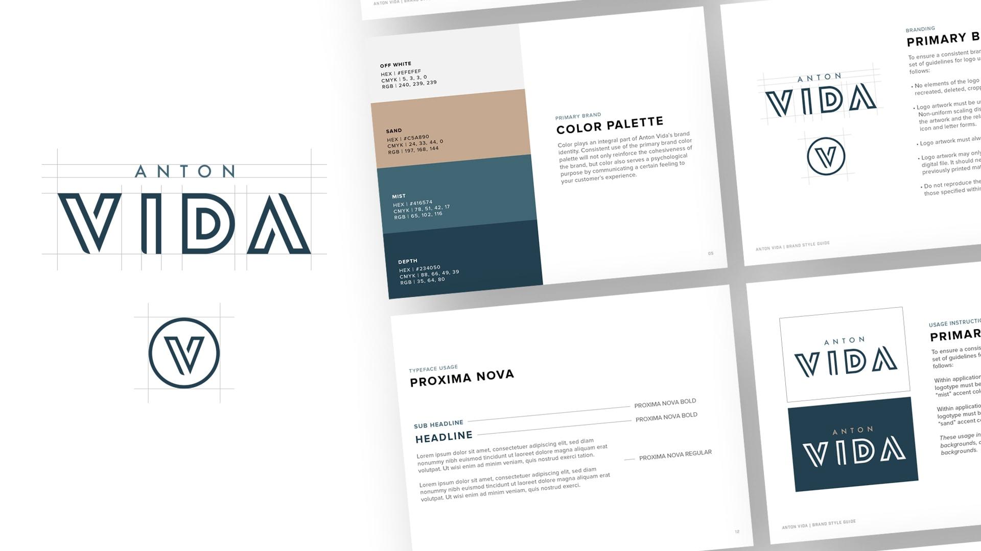Anton Vida Logo Design - Unsung Studio Branding