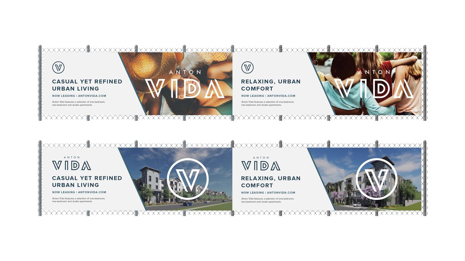 Anton Vida Banner Design - Unsung Studio Branding