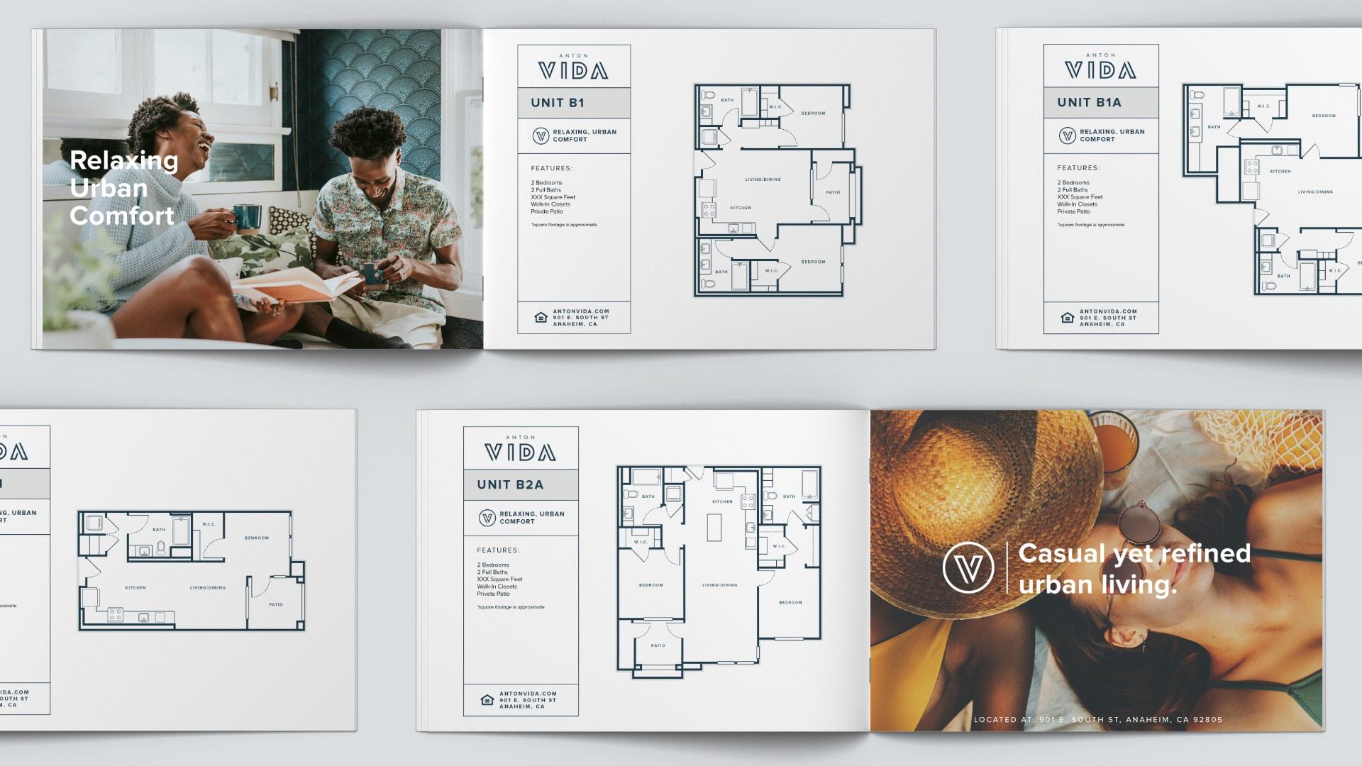 Anton Vida Floor Plans - Unsung Studio Branding