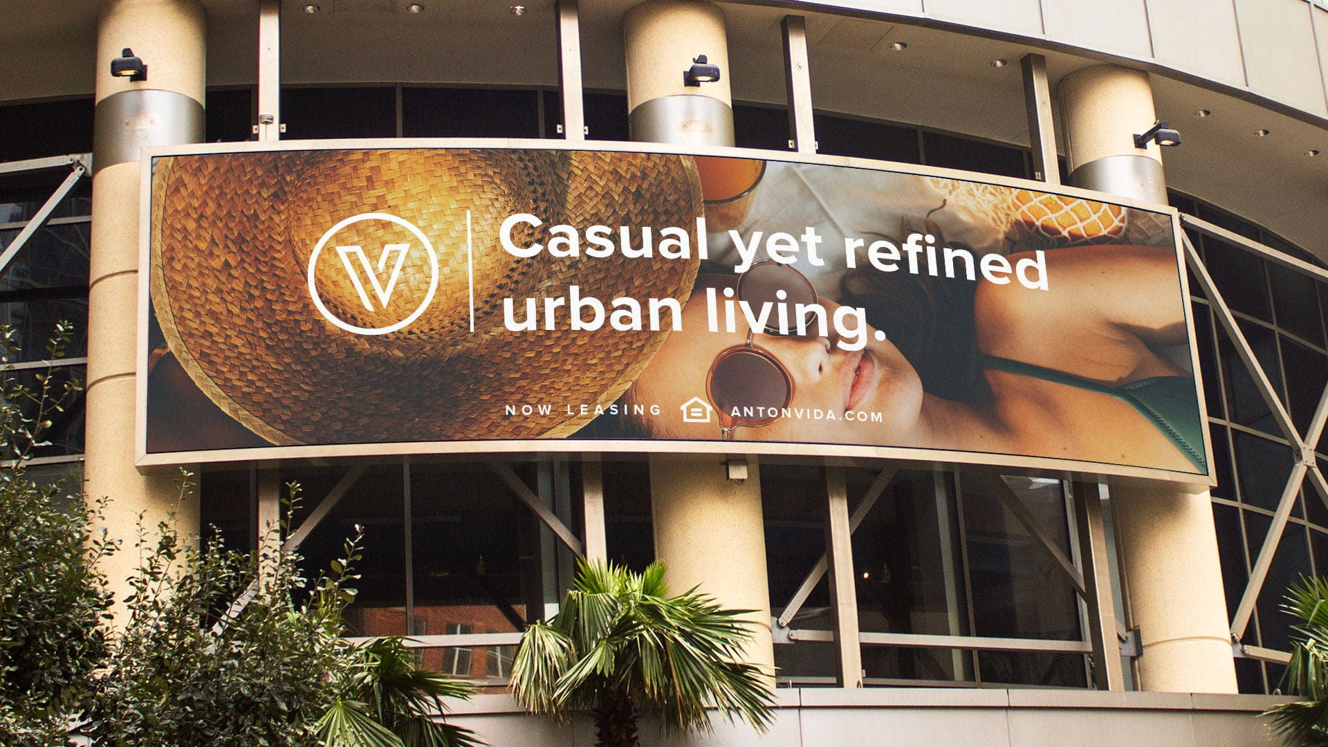 Anton Vida Billboard - Unsung Studio Branding