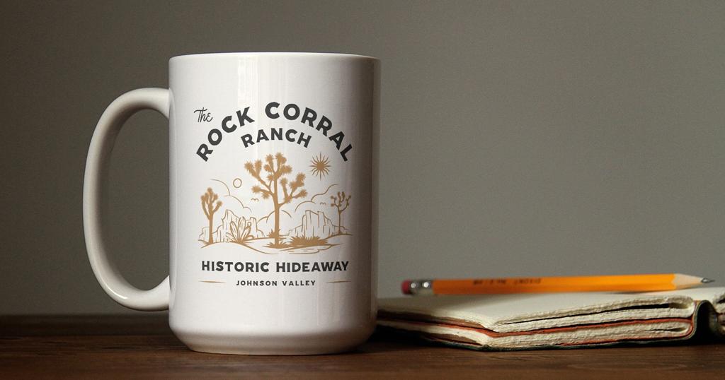 The Rock Corral Ranch Coffee Mug - Unsung Studio Branding
