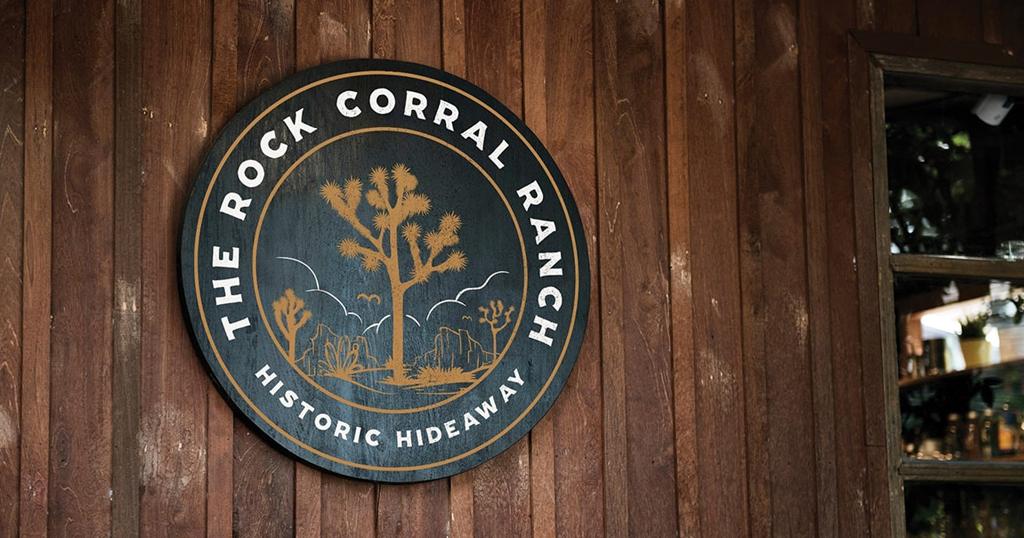 The Rock Corral Ranch Signage - Unsung Studio Branding