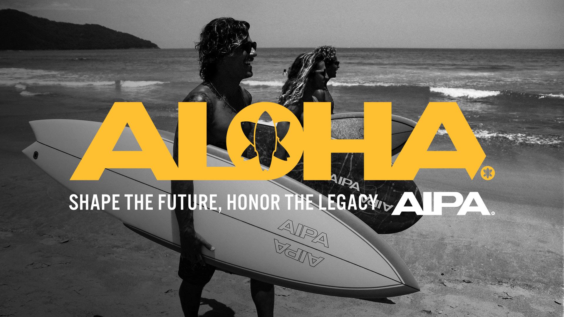 Aipa Surf Aloha Hawaii - Unsung Studio Branding
