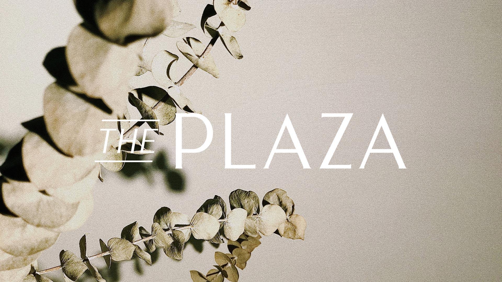 The Plaza Raintree Partners Logo - Unsung Studio Branding