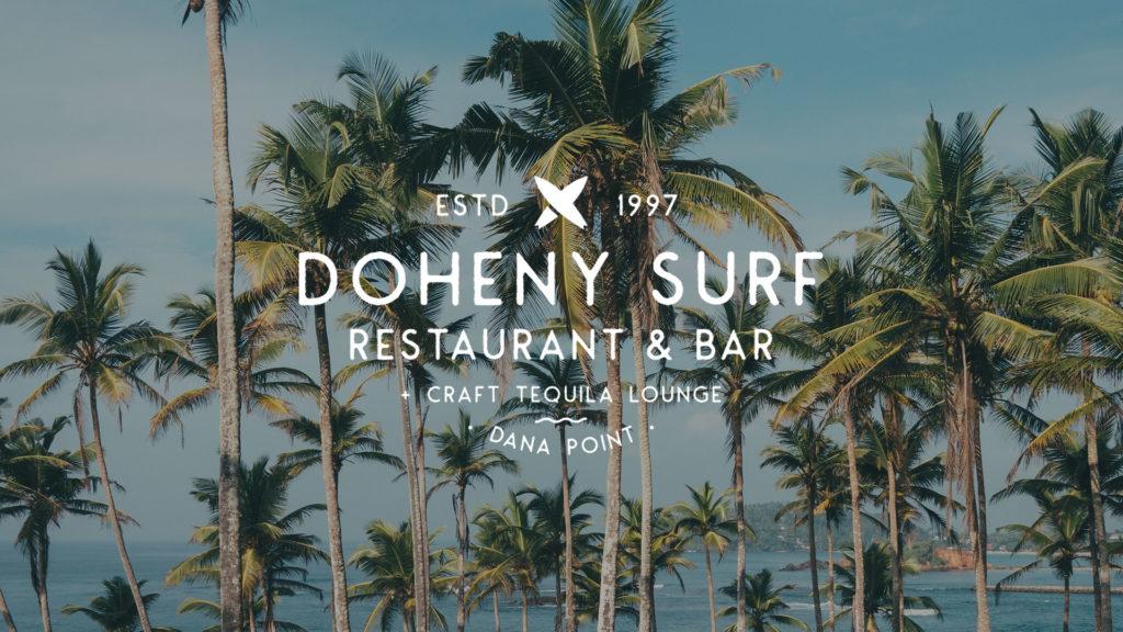 Doheny Surf Restaurant - Unsung Studio Branding