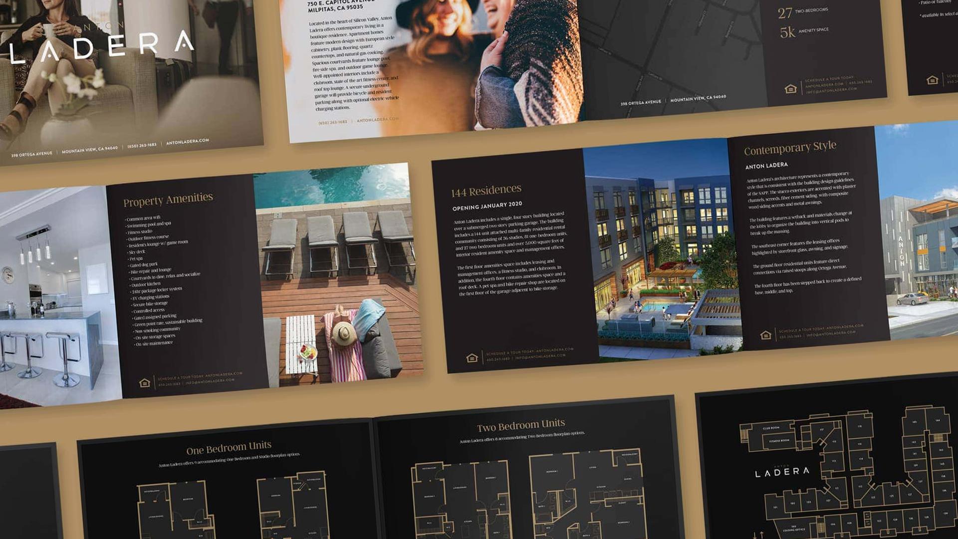 Anton Ladera ebrochure - Unsung Studio Branding
