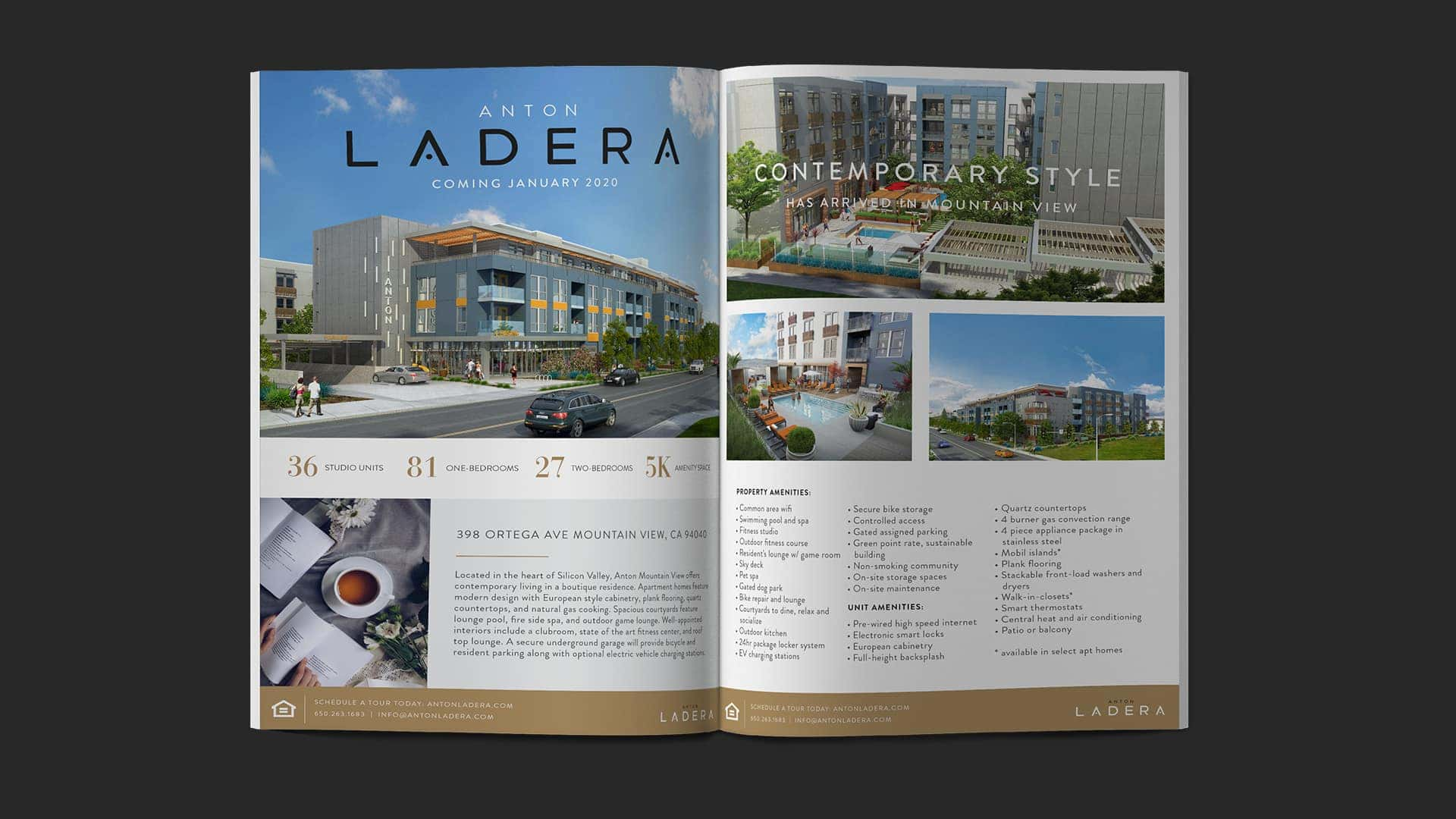Anton Ladera Info Sheet - Unsung Studio Branding