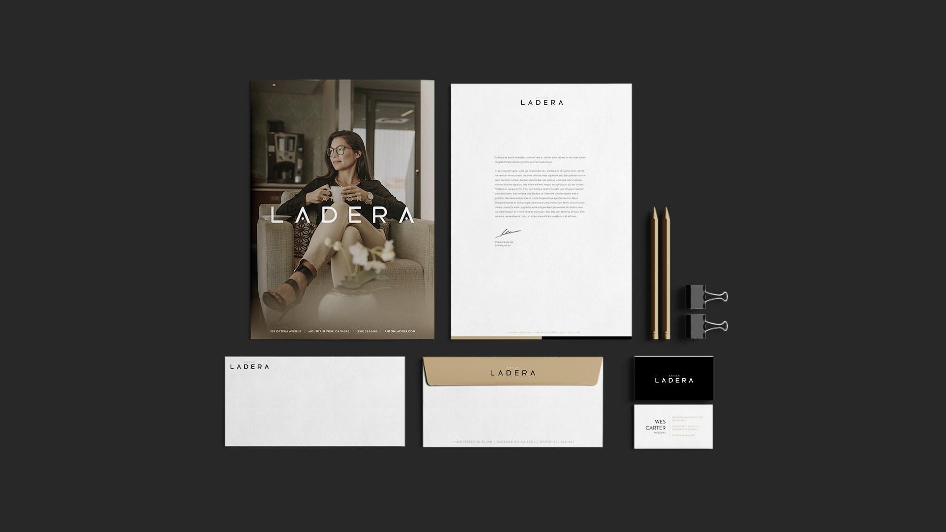 Anton Ladera Stationery - Unsung Studio Branding