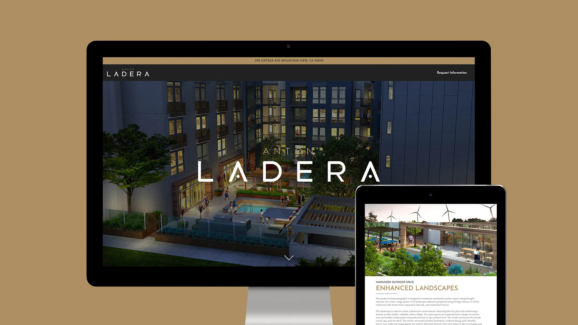 Anton Ladera Website - Unsung Studio Website Design