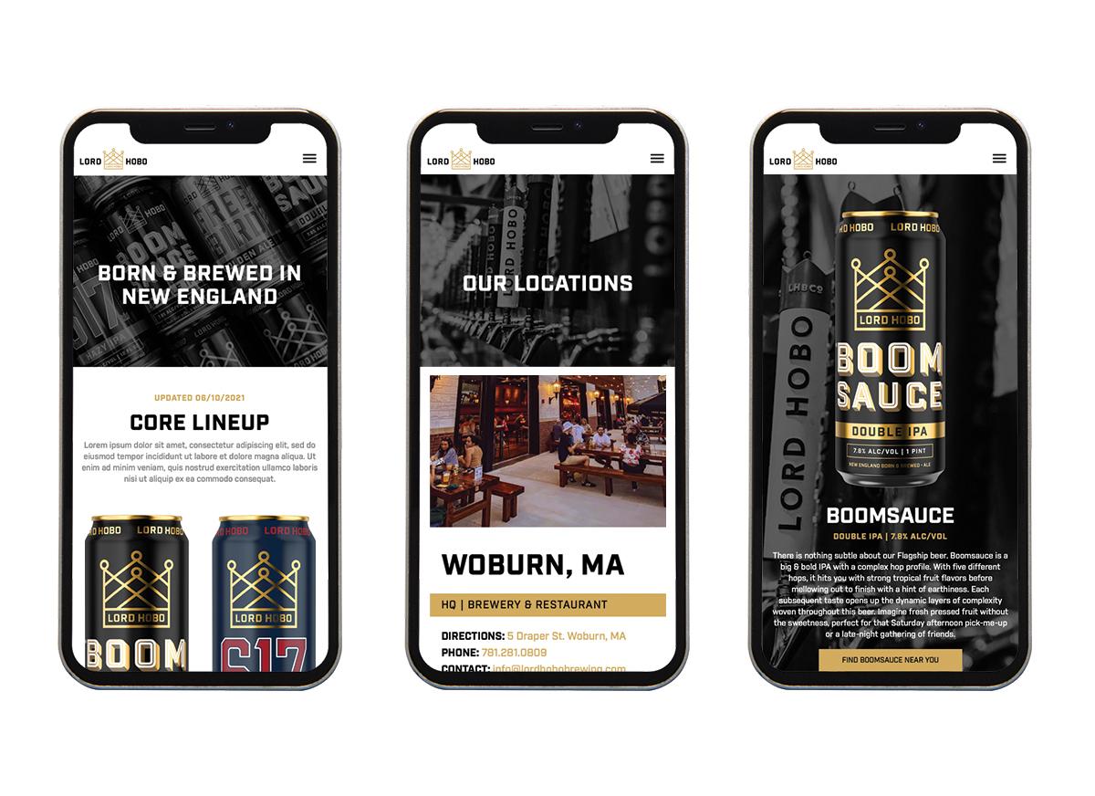 Lord Hobo Website Design - Unsung Studio