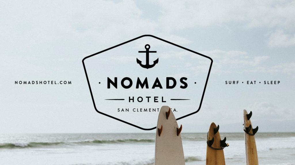 Nomads Hotel San Clemente - Unsung Studio Branding