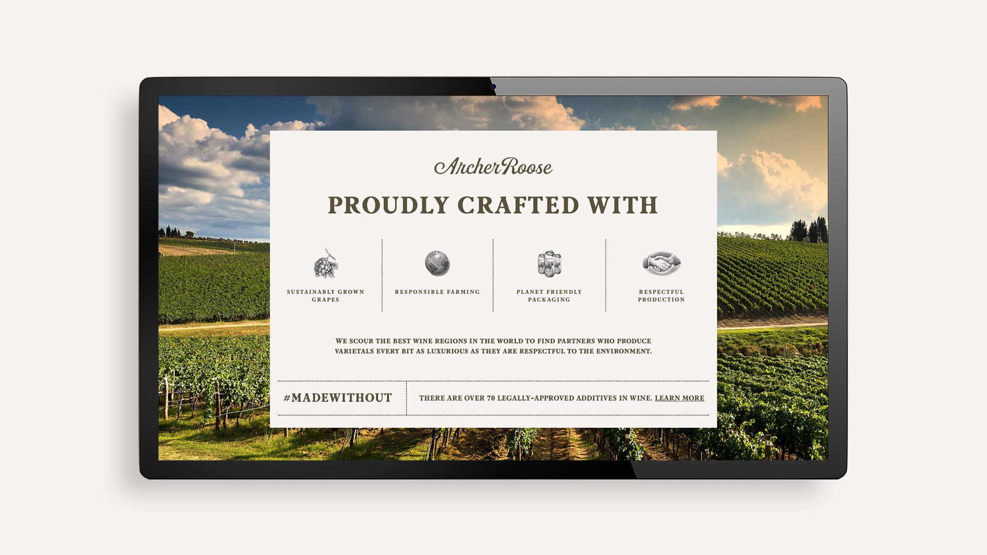 Archer Roose Website Design - Unsung Studio Website Design